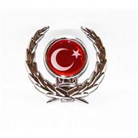 Zum Türk Bayrağı Arma Stickerı 1004749