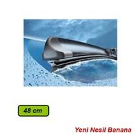 Car Speed Banana Yeni Nesil Silecek Süpürgesi 48 cm