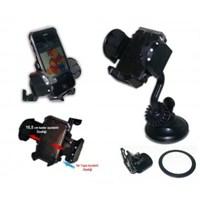 Car Speed 4 Fonksiyonlu Telefon-PDA-MP4 Navigasyon Tutucu Spralli