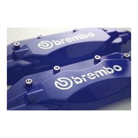 Z tech Brembo tipi mavi renk kaliper kapağı seti 12413