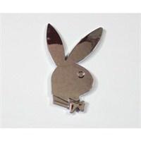 Z tech Playboy Logosu 3D görünümlü sticker 7x5cm