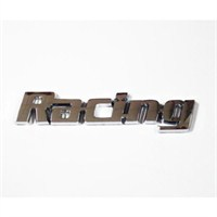 Z tech Racing Logosu 3D görünümlü sticker 11x2 cm