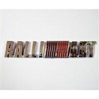 Z tech Ralli ART Logosu 3D görünümlü sticker 8x2 cm