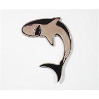 Z tech Köpekbalığı Logosu 3D görünümlü sticker 10x7 cm