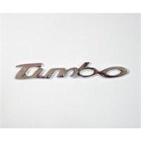 Z tech Turbo Logosu 3D görünümlü sticker 14x2 cm