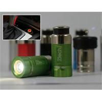 Z Tech Night Sun Yeşil Kasa El Fenerı (cakmak Sarjlı) 7810