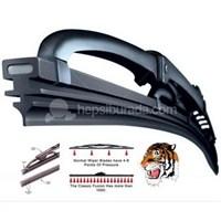 Dreamcar Tiger Grafitili Universal Silecek Takım 51 Cm. (2 Adet) 20007