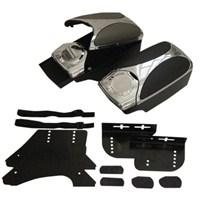 Dreamcar Rex Kolçak Krom-Siyah 2702001