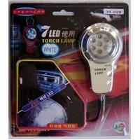 Dreamcar Seyyar Lamba 7 Beyaz Ledlİ 35020