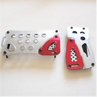 Dreamcar Racer-Pro Pedal Seti Otomatik Gri-Kırmızı 4504302