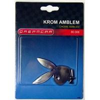 Dreamcar Krom 3 Boyutlu Amblem Playboy 8000617