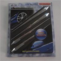 Dreamcar Rally Krom Sticker 4'lü 80184