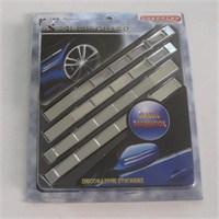 Dreamcar Rally Krom Sticker 4'lü 80186