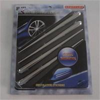 Dreamcar Rally Krom Sticker 4'lü 80187