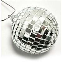 Automix Disko Topu Beyaz Aynalı 69 Mm