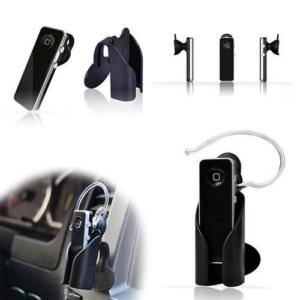 anka araç içi universal bluetooth kulaklık tutucu