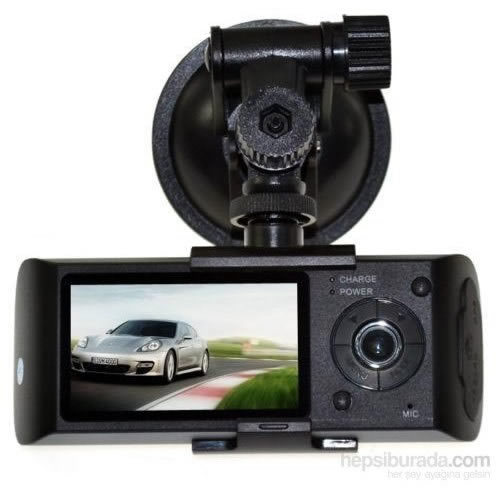 Junglee C5 Dual Kamera Dual Ekran Araç Kamera Türkçe Menü