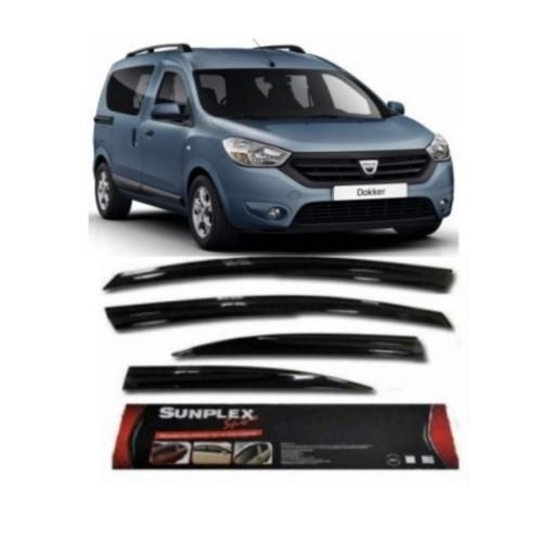 2 Lü Dacia Dokker Mügen Tipi Sport Stlye Sunplex Cam Rüzgarlığı