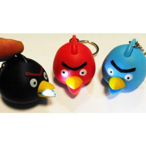 Anahtarlık Kızgın Kuşlar Işıklı Sesli