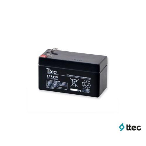 T.Tec Plus 12V 1,3Ah Bakımsız Kuru Akü