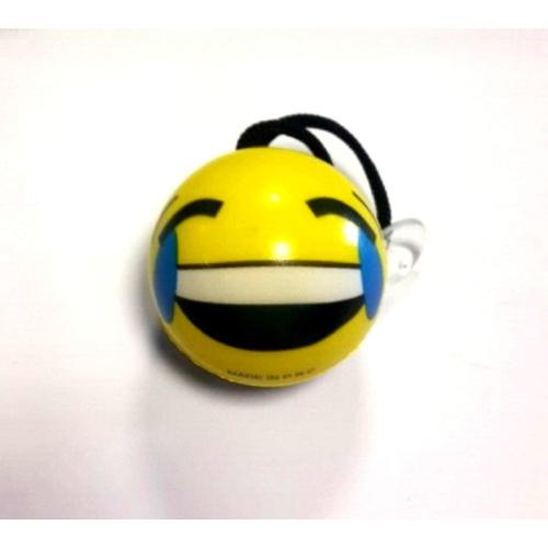 Süslenoto Gülen Yüz Vantuzlu Maskot Çap:6Cm M4