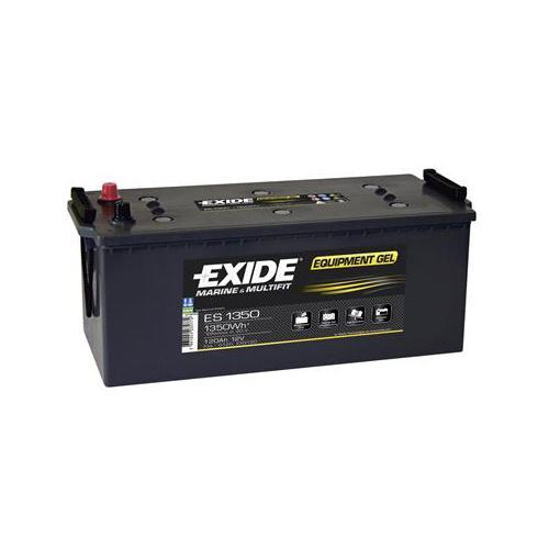 Exide ES1350 12 Volt 120 Amper Solar Jel Akü