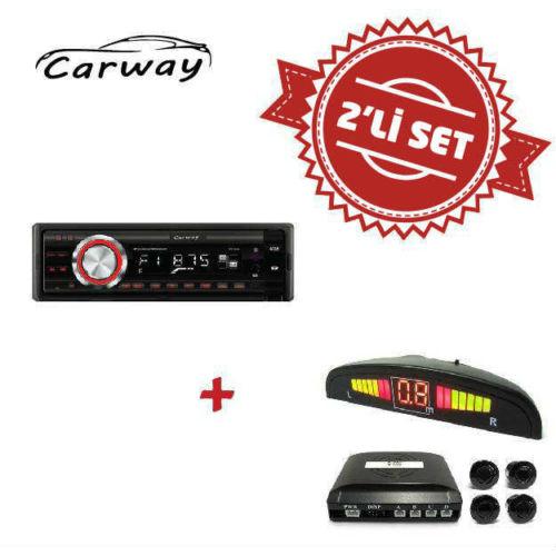 Carway CR-8000 Oto Teyp ile Park Sensör Set