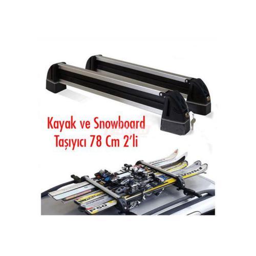 Carub Kayak Ve Snowbort Taşıyıcı78 Cm 2Li