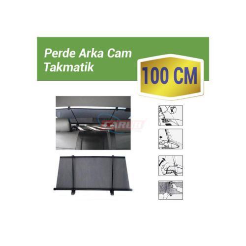 Carub Güneşlik Arka Cam Takmatik 100Cm 2Li Çubuk