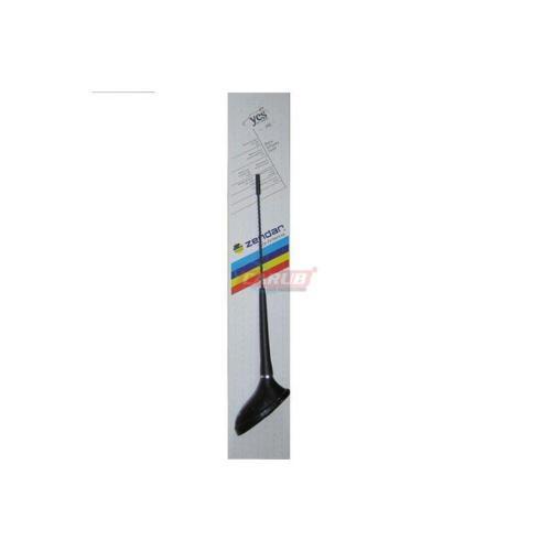Zendar anten Süs Peouget Uzun Siyah 35Cm Y-065S