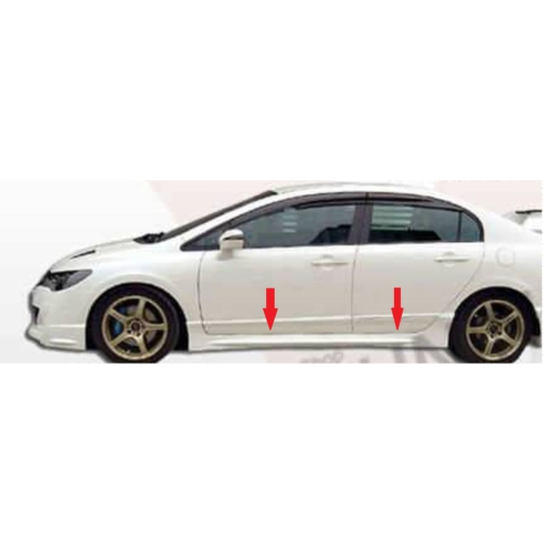 Civic Honda 2006 - 2011 Mugen Marşbiyel - Boyalı