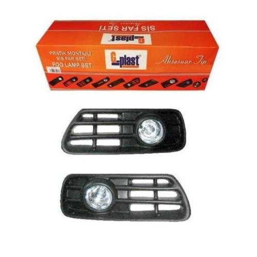 G Plast Golf 3 Sis Farı Seti Beyaz Sis Lambası Seti Oem