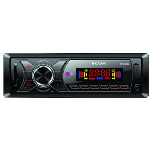 Kawai KW-2600 BL Radyo/Mp3/USB/SD Bluetoothlu Oto Teyp