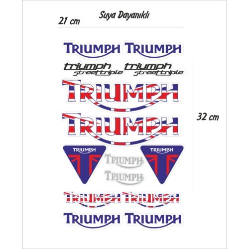 StickerMarket Triumph Sticker Seti