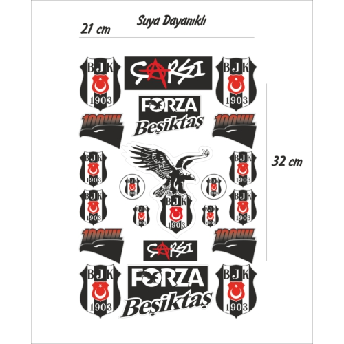StickerMarket Beşiktaş Sticker Seti