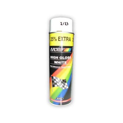 Boya Parlak Beyaz Universal Sprey 500Ml Motip