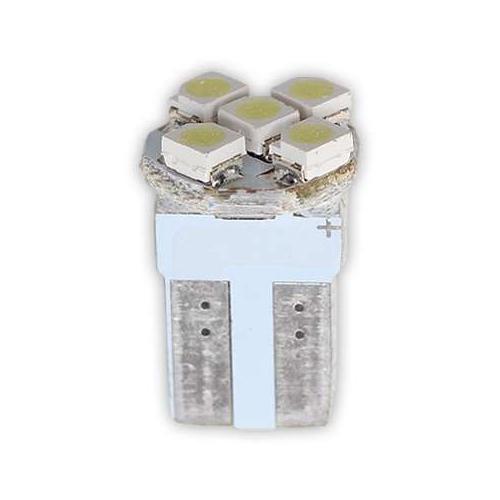 Dipsiz Ampul 5LED Beyaz Işık 12V