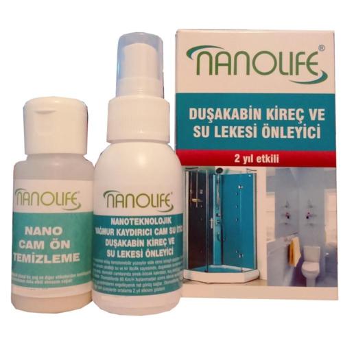 Nanolife Duşakabin 2 YILETKİLİ SU KAYDIRICI / KİREÇ LEKESİ ÖNLEYİCİ 09c056