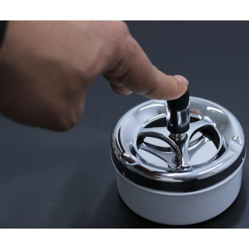 ModaCar Otomatik Basmalı Kapaklı Metal Küllük 29a015