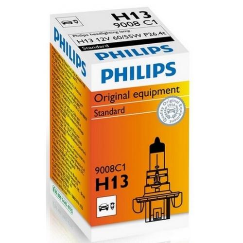 Philips H13 Far Ampulü 12V 60/55W P26.4T 9008 C1