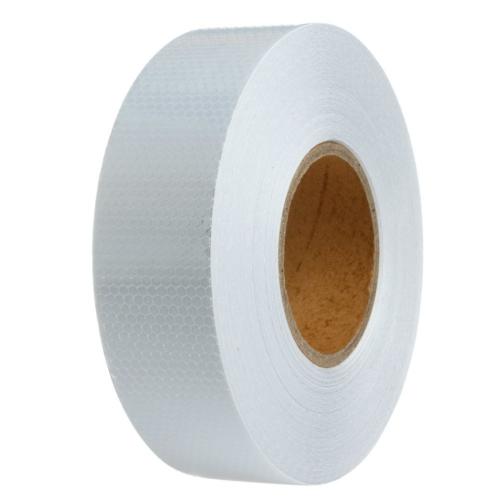 ModaCar Petekli Desen Beyaz Fosfor Şerit 5 Mt 540066