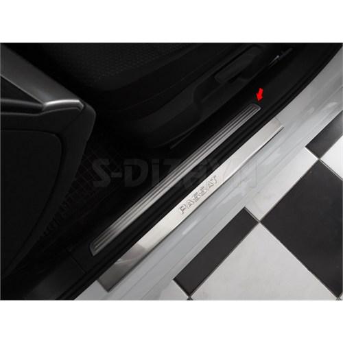 S-Dizayn Vw Passat B8 Krom İç Kapı Eşiği Hihgline 4 Parça