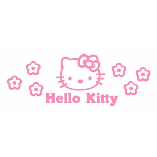 Z tech Hello Kitty Stickerı 18 x 7 cm