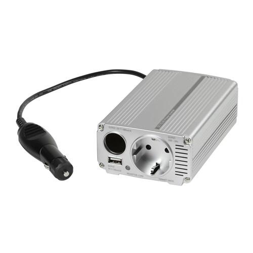 Vivanco 32374 Cpc-160 Car Dc-Ac Power İnverter 150 W Silver Akım Korumalı Çıkış Ac230 V/ 50 Hz