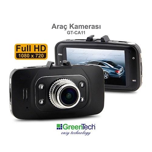 GreenTech GT-CA11 Araç Kamerası (FULL HD)