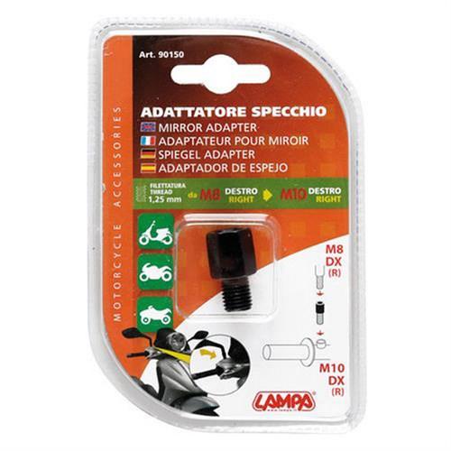 Lampa Motosiklet Ayna Adaptörü M8dx(R) > M10dx(L) Dönüştürücü 90150