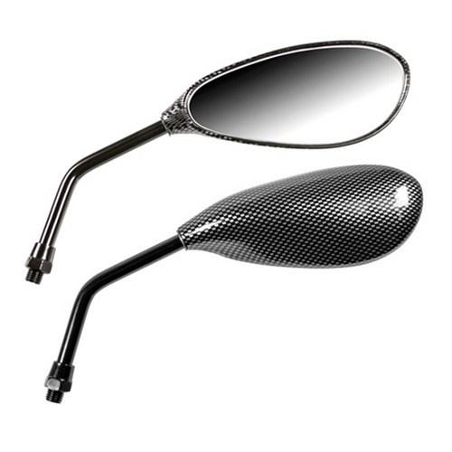 Lampa Naked Karbon Motosiklet Aynası Sağ+Sol Takım 90131
