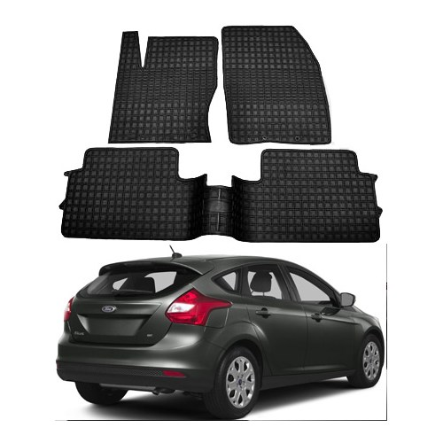 Modacar Ford Focus 2 Hb Kasa 2011 >> Siyah Özel Paspas Seti 103971