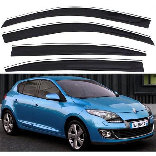 Sportline Nikelaj Hatlı Renault Megane 3 Kasa 2009 >> 4 Kapı Rüzgarlık Seti 103980