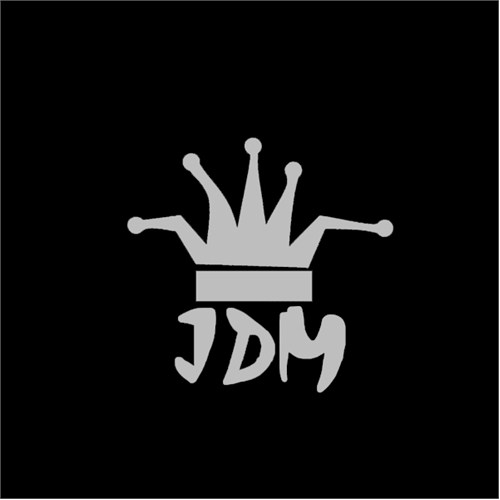 "Z tech "" JDM King "" Sticker 14x14cm"